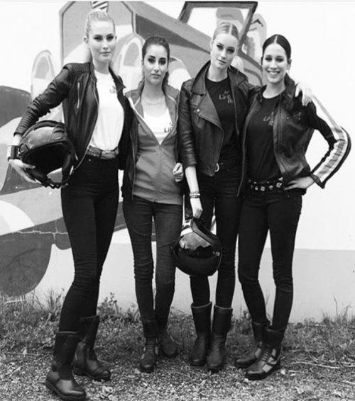 Elenamodels für BMW Motorcycles Show