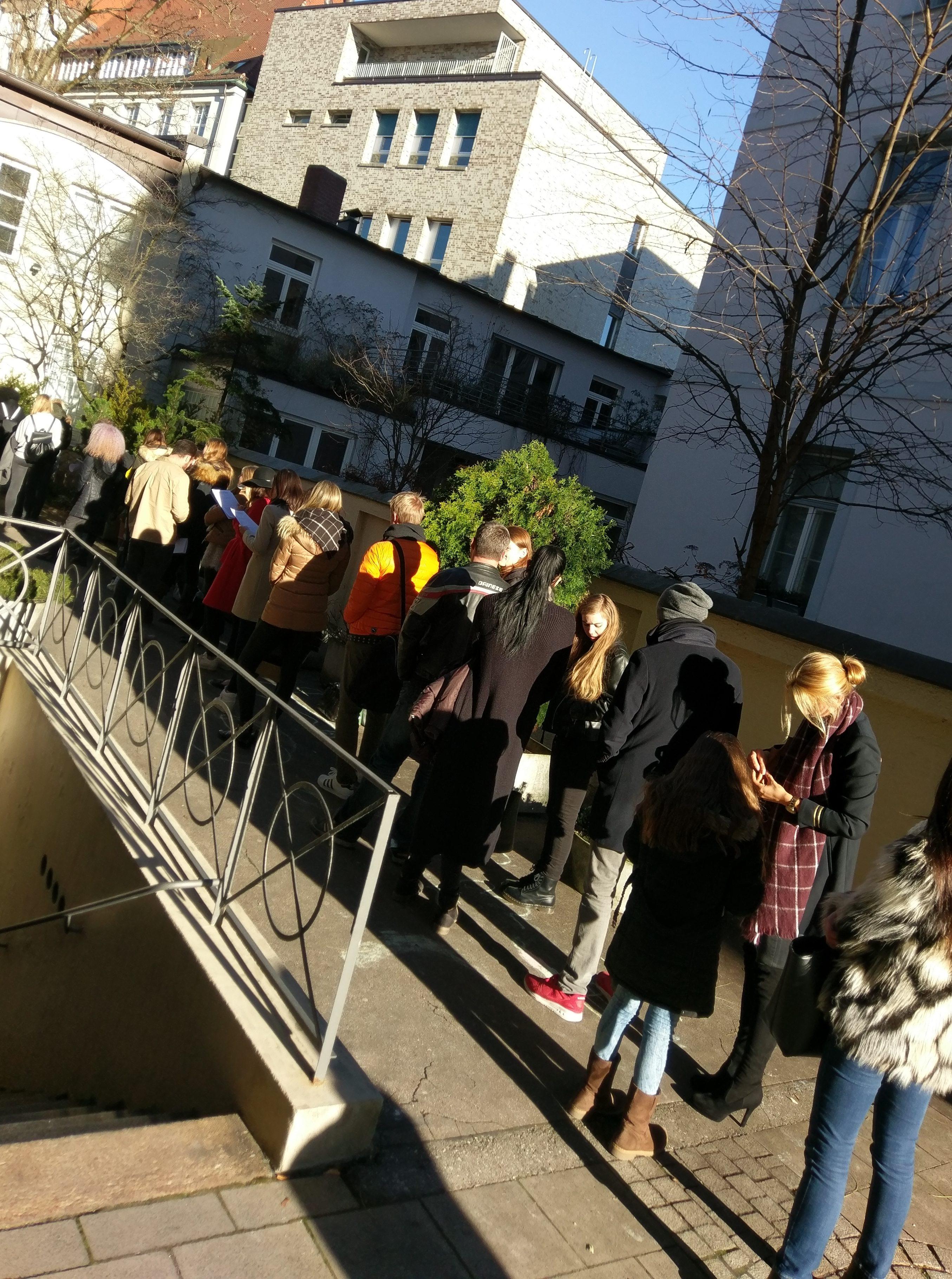 Mega casting day in München bei elena models