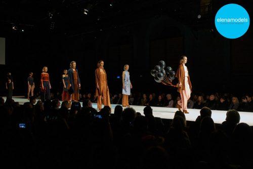 Violetta M. auf der AMD Fashionshow